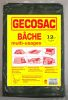 Bâches de protection renforcées 3x4m multi-usages version bicolore